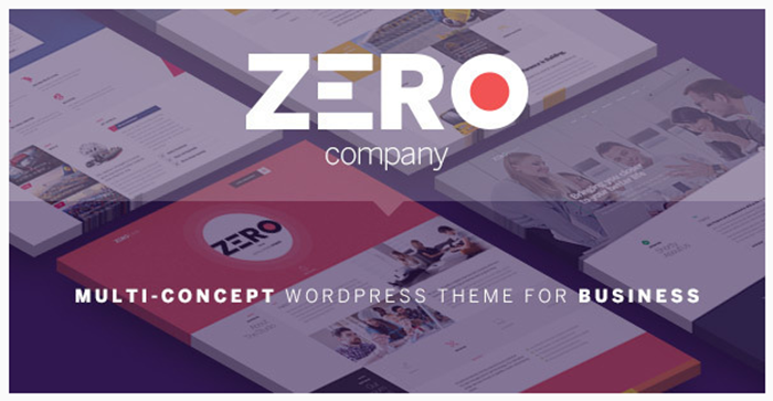 Review Zero – Corporate Creative WordPress Theme