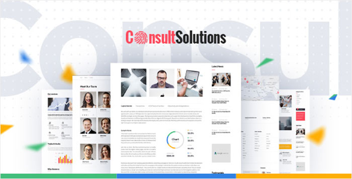Consult Solution   Business, Finance & Corporate WordPress Theme