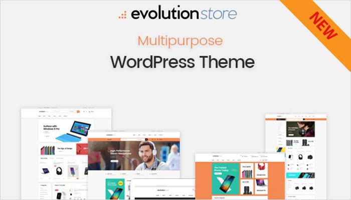 Evolution   WooCommerce Multipurpose WordPress Theme