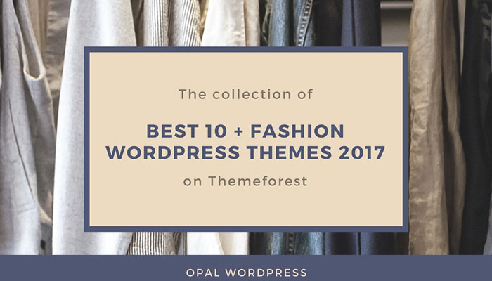 best fashion themes