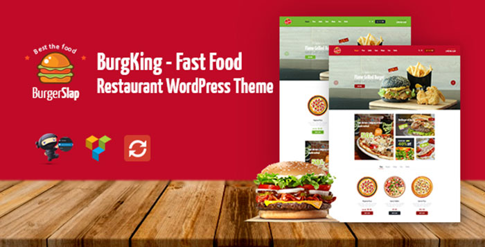 Burger Slap   Fast Food Restaurant WordPress Theme