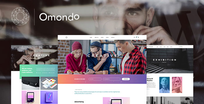 Omondo   Creative Agency Business WordPress Theme