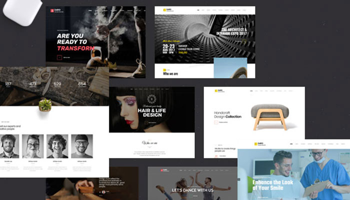 Zaro   Creative Multipurpose Onepage WordPress Theme
