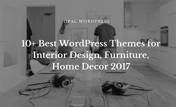 best wordpress theme decors, furniture