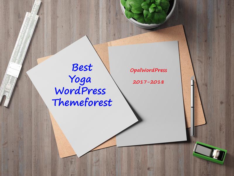 best yoga wordpress themes