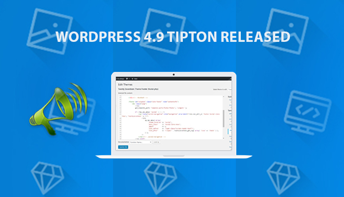wordpress 4.9 released