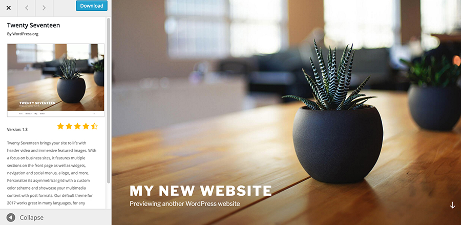 Basic-WordPress-Website