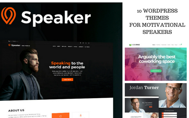 10 WordPress Themes for Motivational Speakers
