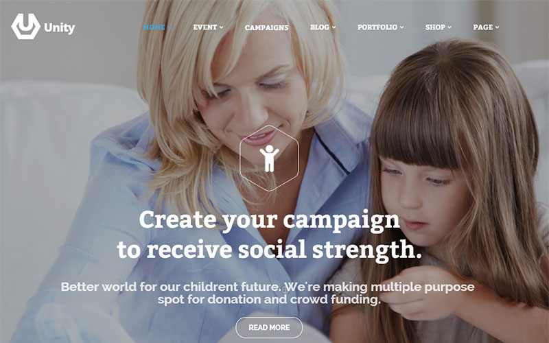 best nonprofit wordpress theme