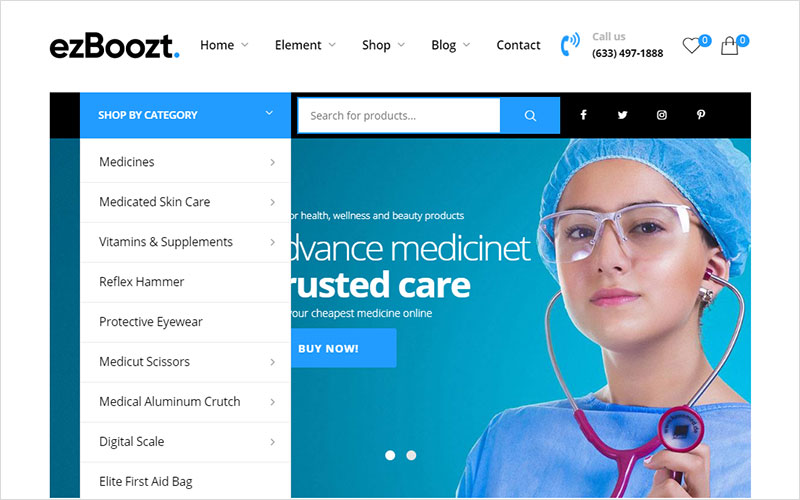 best pharmacy healthy wordpress themes