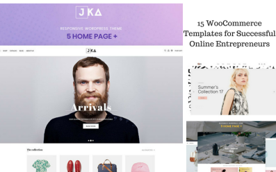 15 WooCommerce templates