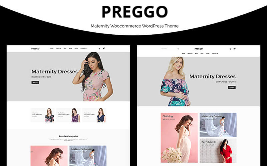 Preggo - Maternity WooCommerce Theme
