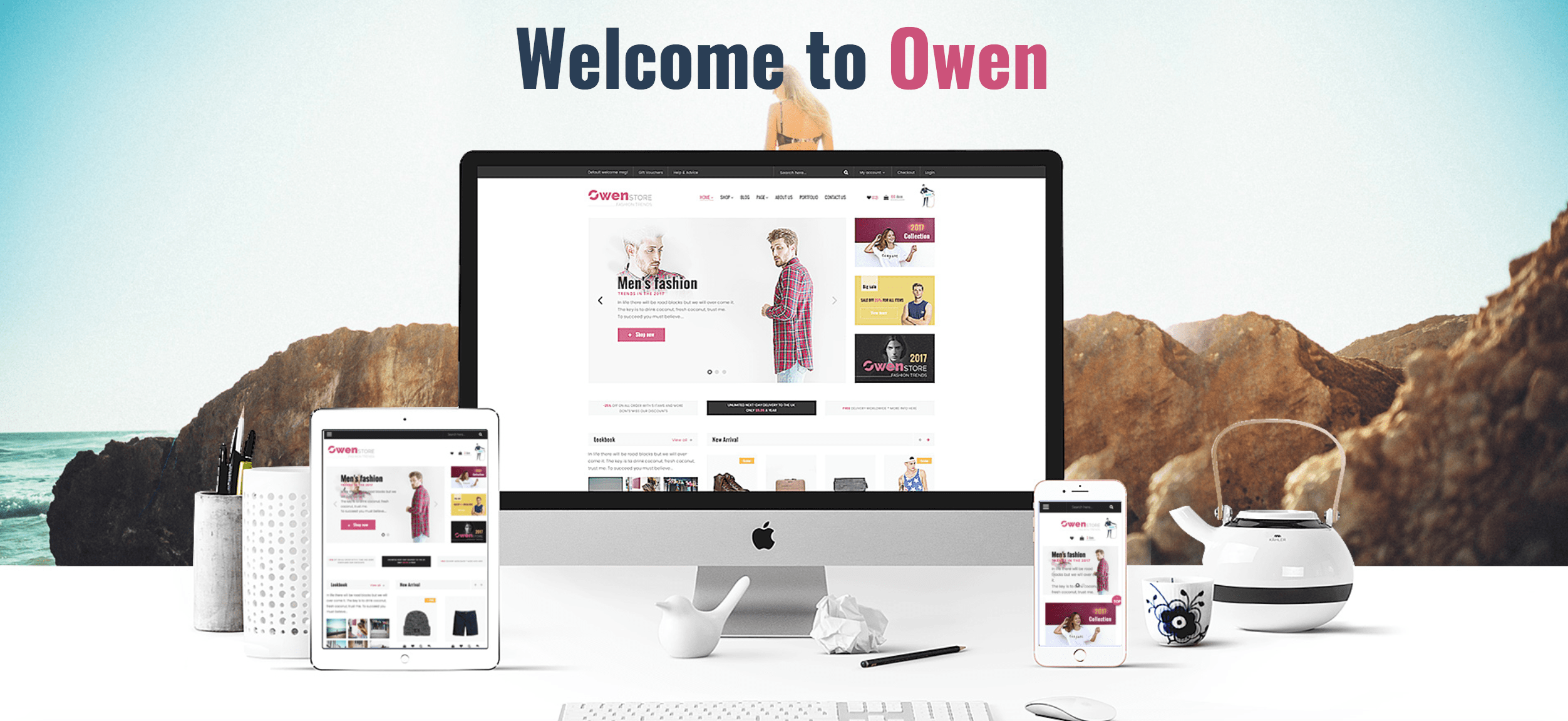 owen multipurpose wordpress theme