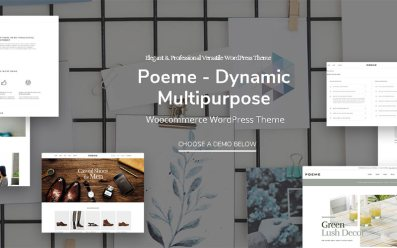 poeme multipurpose wordpress theme
