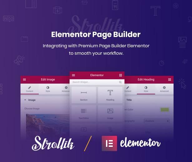 Strollik Best Elementor Single Product WordPress Theme