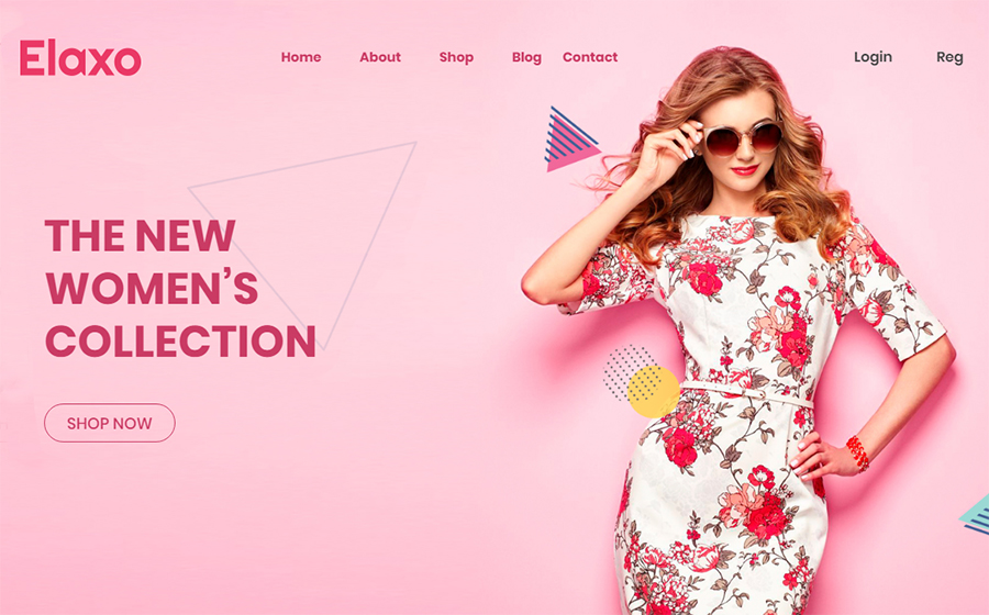 Elaxo - Fashion WooCommerce Theme<img src=