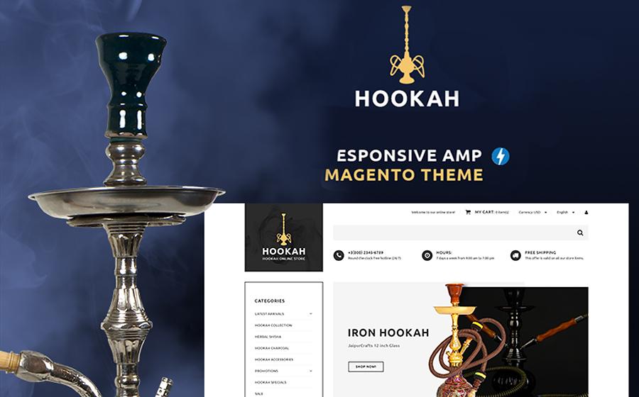 Hookah - Hookah Bar Magento Theme<img src=