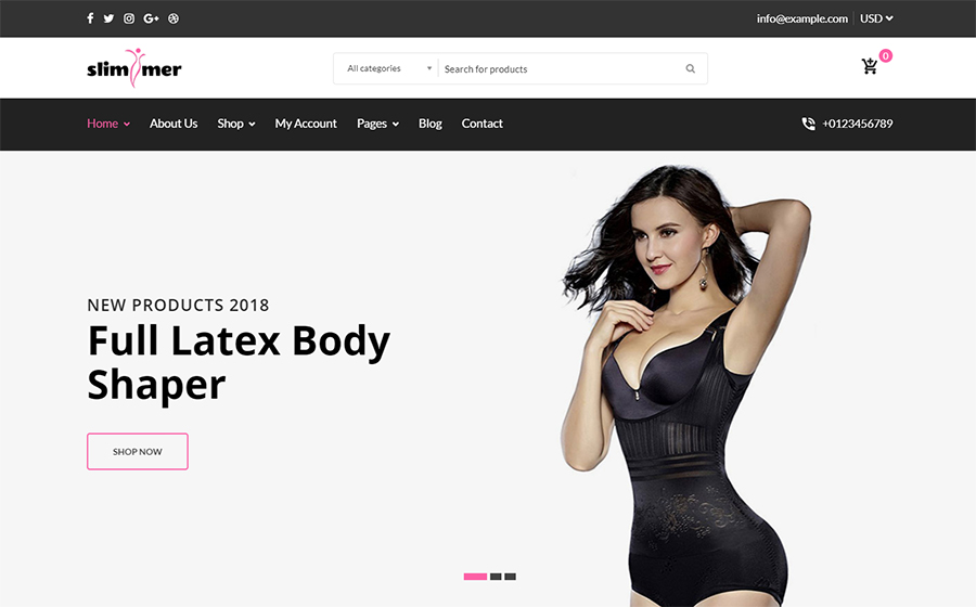 Slimmer - Shapeware WooCommerce Theme <img src=