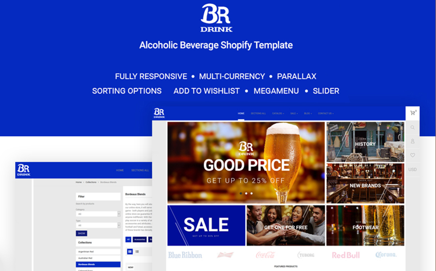 BR Drink - Original Alcohol Online Store Shopify Theme<img src=
