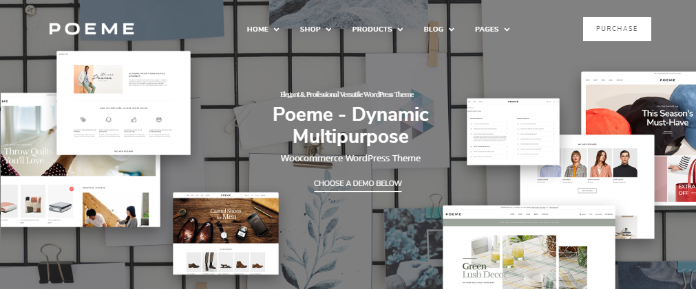 Poeme Dynamic Multipurpose WooCommerce WordPress Theme