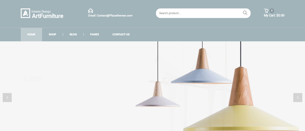 Artfurniture Furniture Theme for WooCommerce WordPress