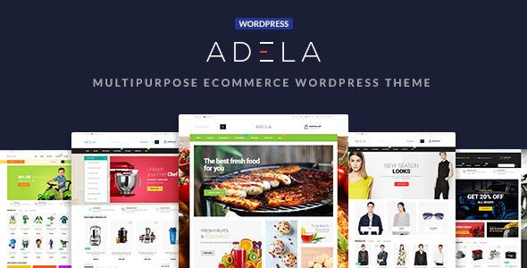 Adela best Ecommerce WordPress Theme for Multipurpose