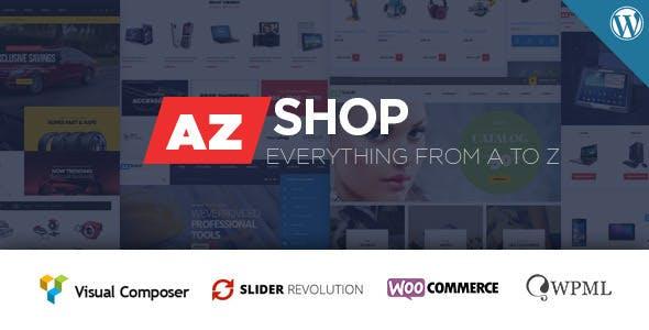 Azshop best Ecommerce WordPress Themes