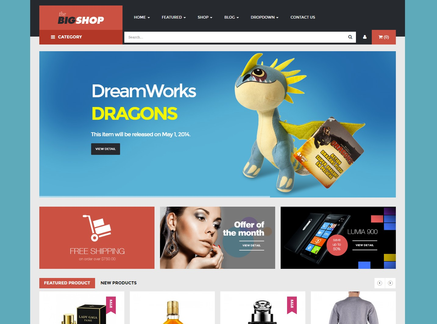 BigShop - WooCommerce Responsive WordPress Theme
