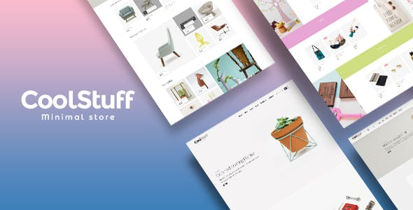 Coolstuff best Ecommerce WordPress Themes for Minimal Store