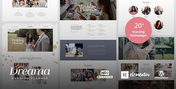 Dreama Wedding Ecommerce WordPress Theme