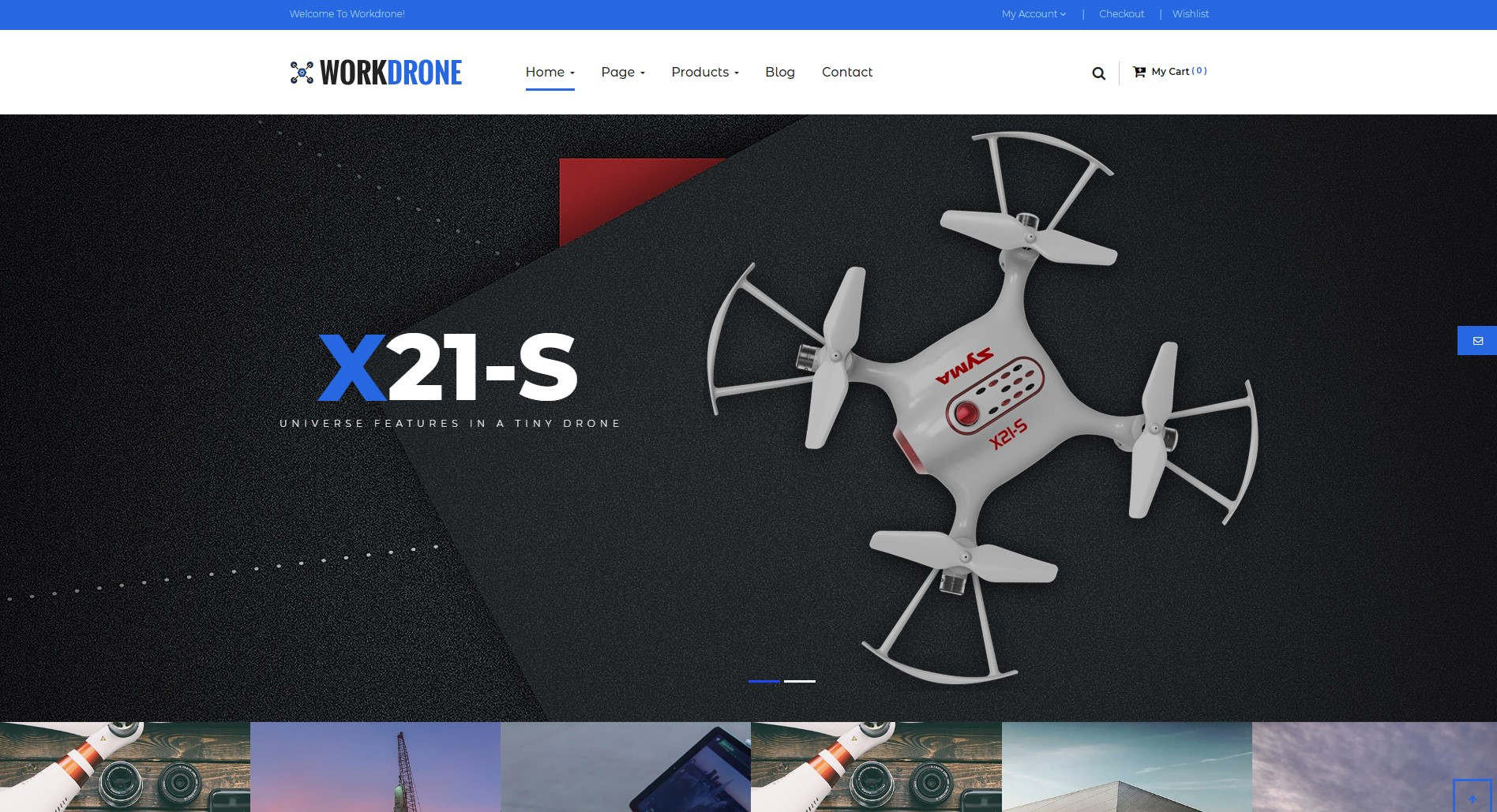 Drone best Ecommerce WordPress Themes