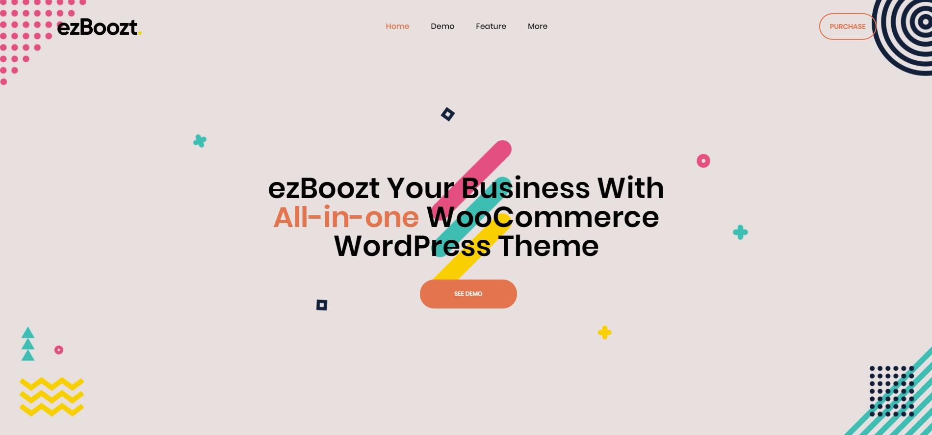 EzBoozt – All-in-one WooCommerce WordPress Theme