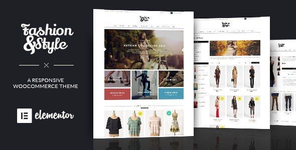 Fashion best Ecommerce WordPress Theme