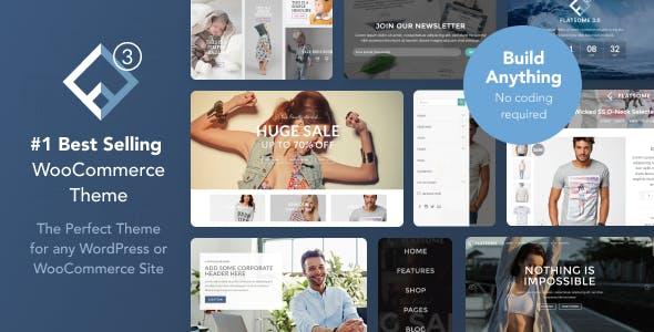 Flatsome best Ecommerce WordPress Themes