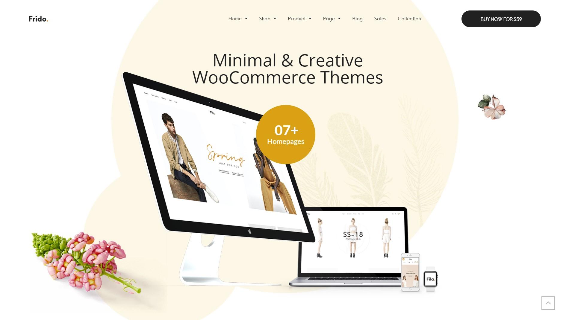 Frido – WooCommerce WordPress Theme