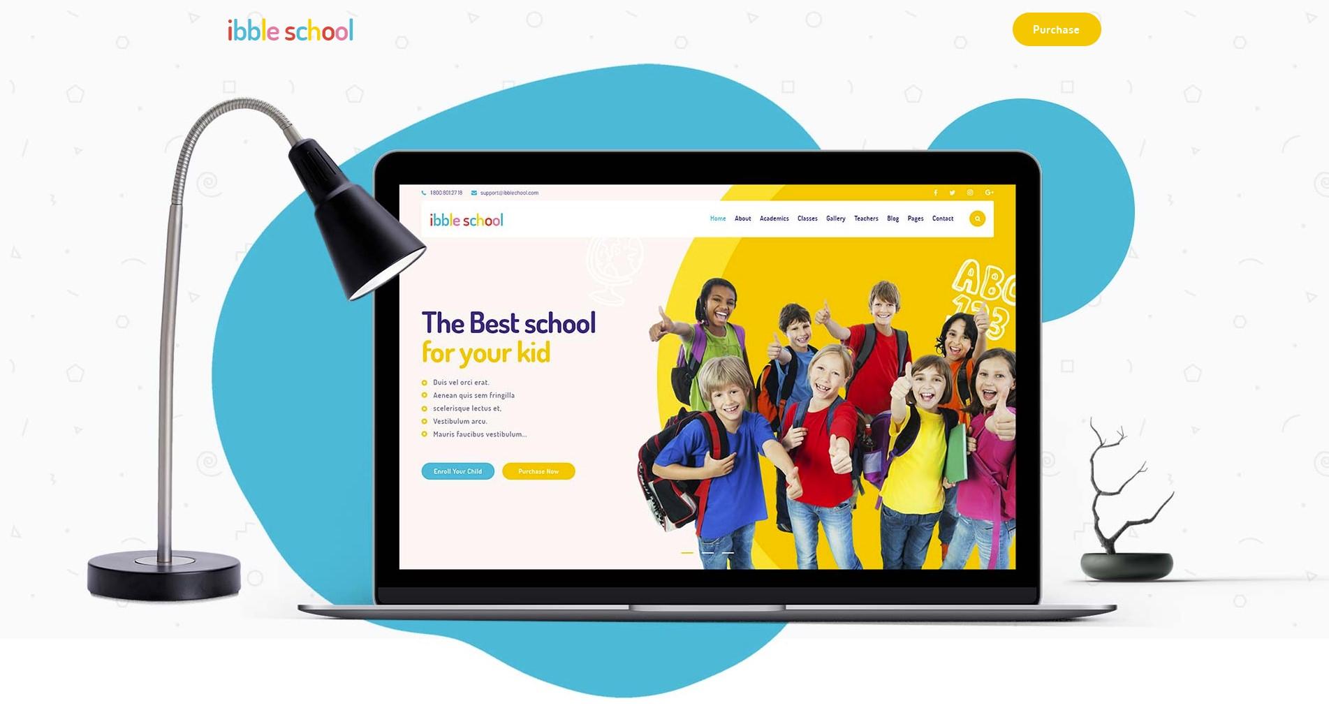 Ibble – Creative Education WordPress Theme