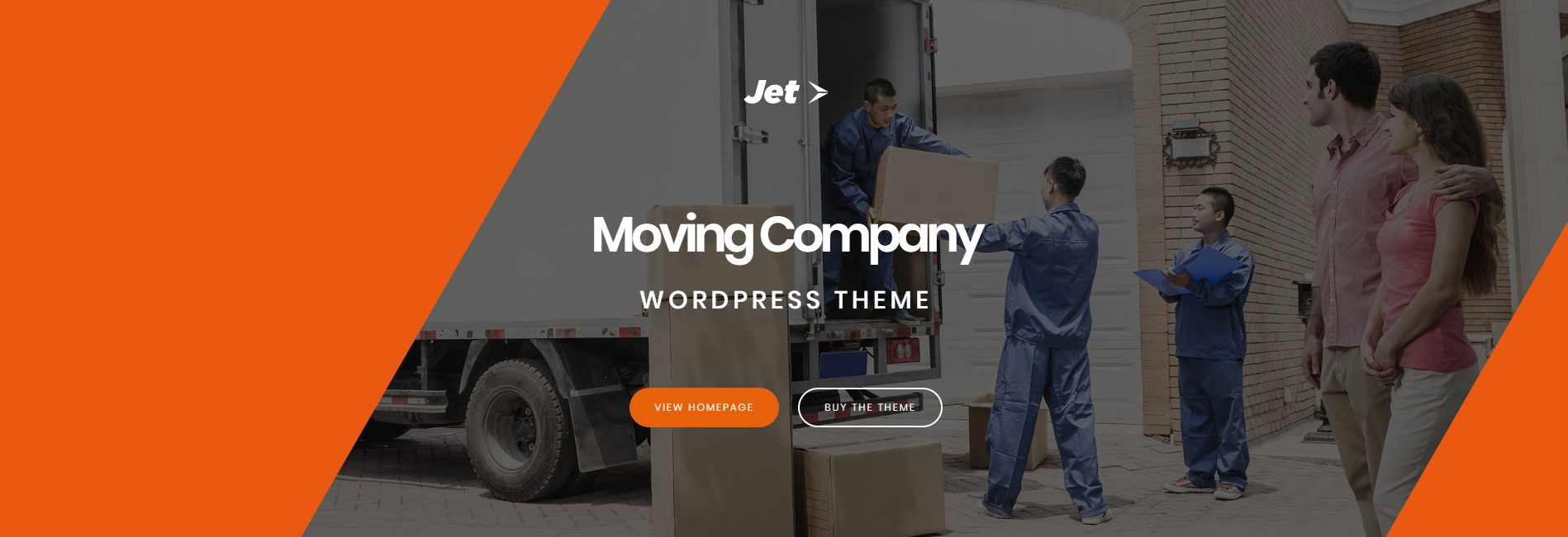 Jet – Home Moving Services WordPress Theme