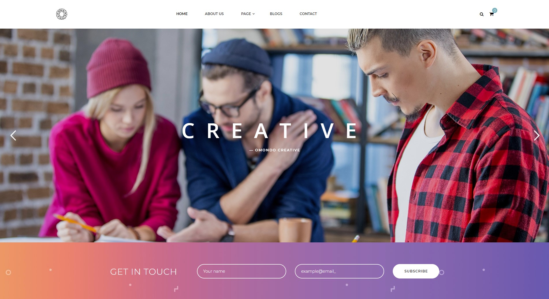 Omondo - Creative Agency Business WordPress Theme