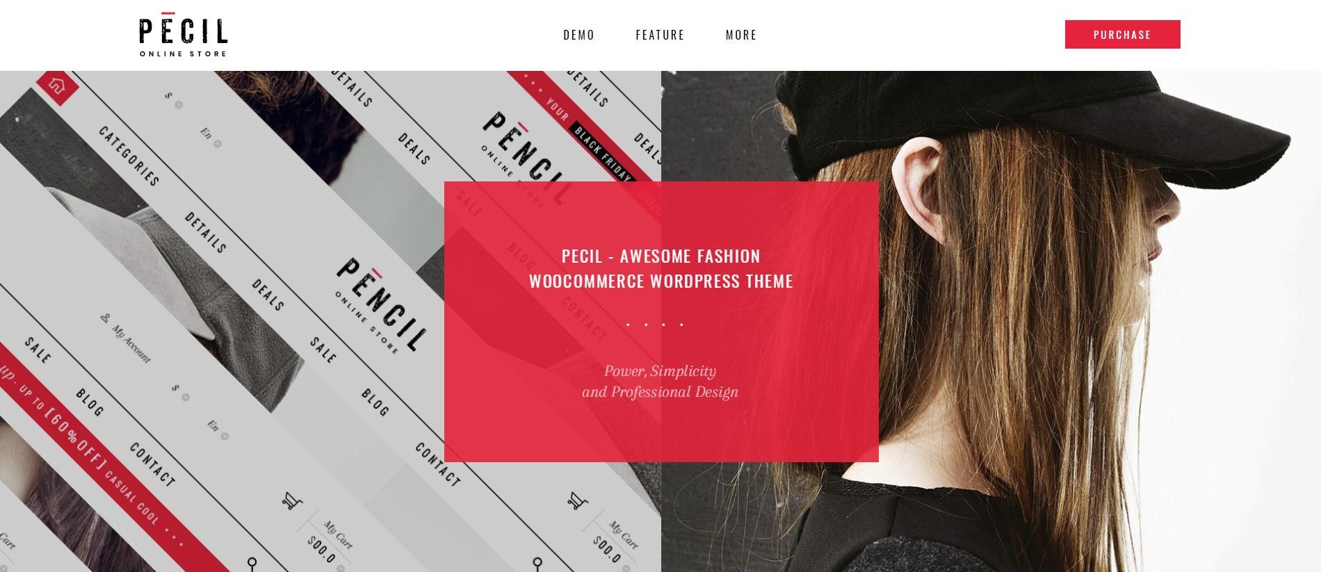 Pecil – Awesome Fashion WooCommerce Theme