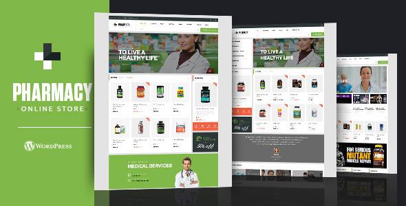 Pharmacy best Ecommerce WordPress Themes