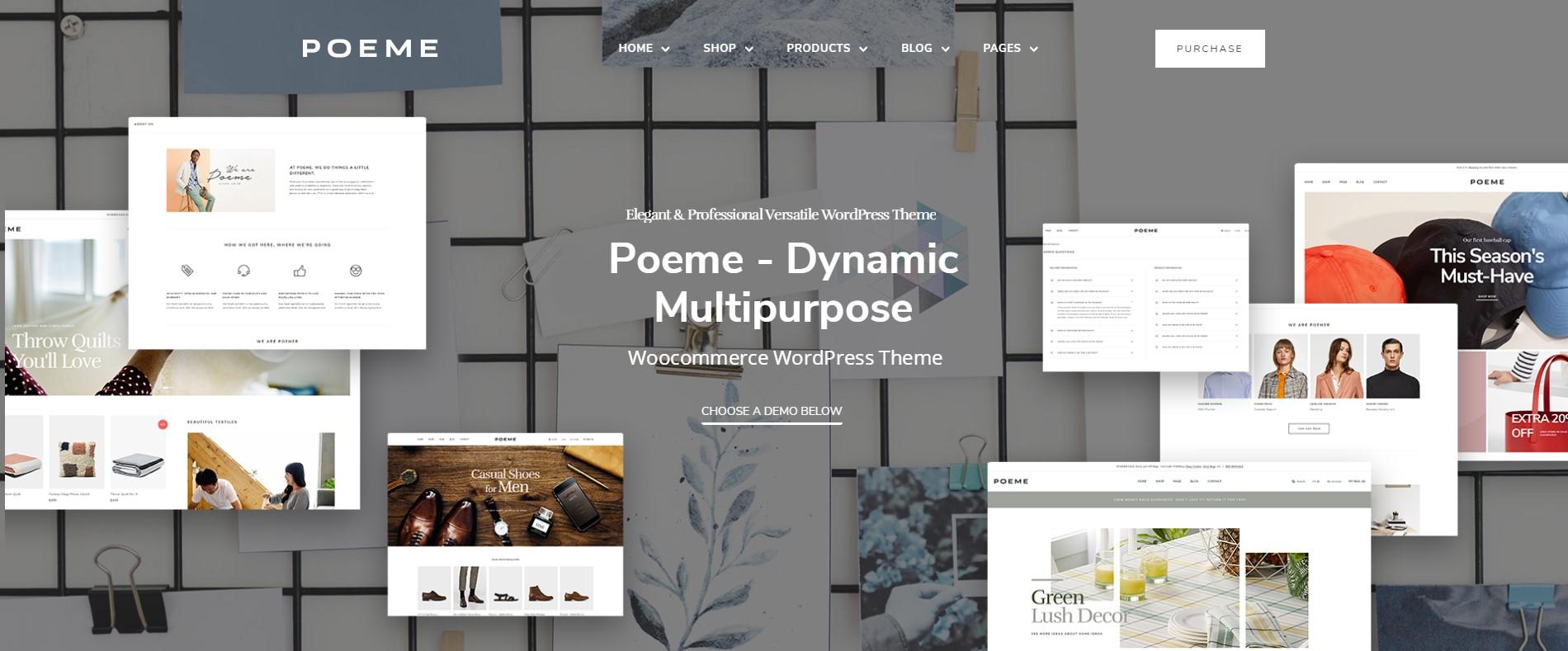 Poeme - Dynamic Multipurpose WooCommerce WordPress Theme