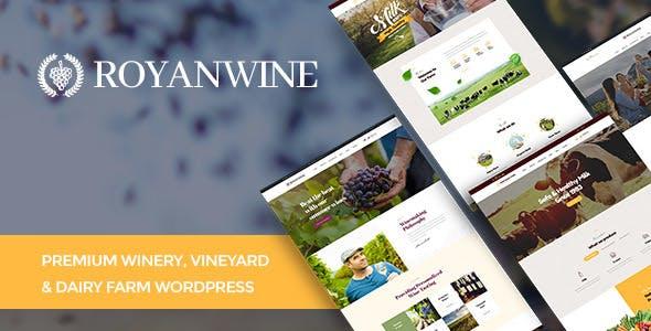 Royanwine best Ecommerce WordPress Themes