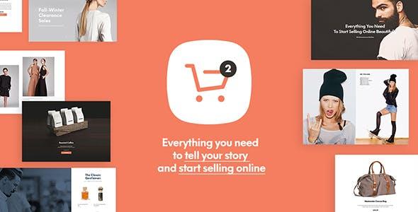 Shopkeeper best Ecommerce WordPress Themes