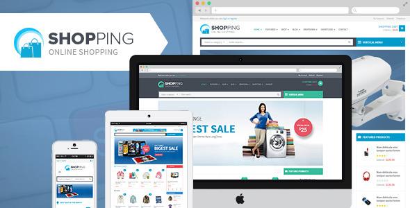 Shopping best Ecommerce WordPress Themes