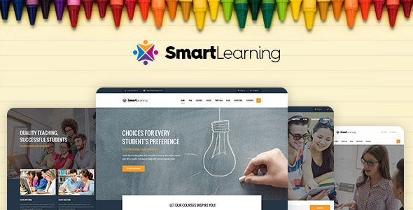 Smart Learning best Ecommerce WordPress Themes