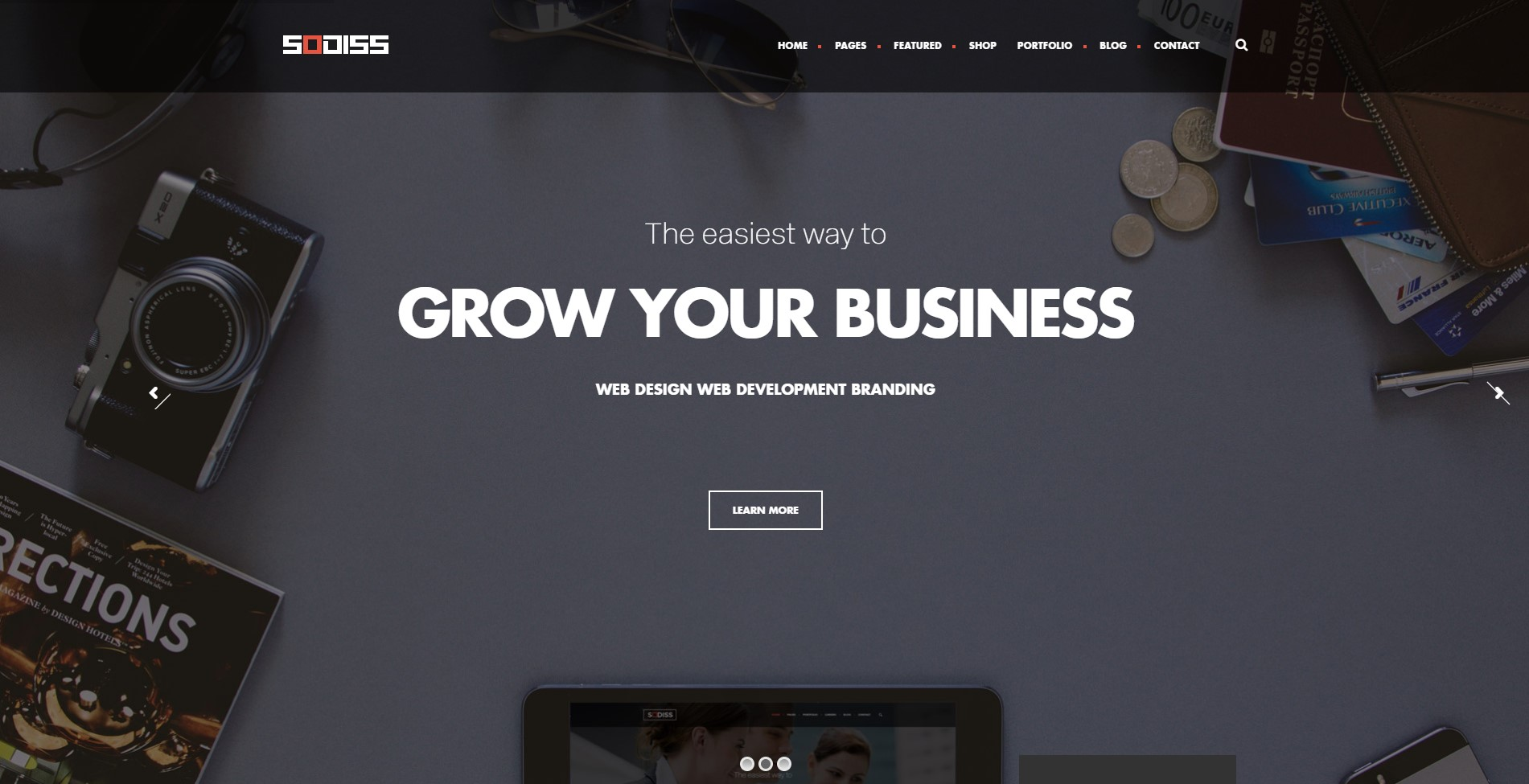 Sodiss – Modern Corporate WordPress Theme