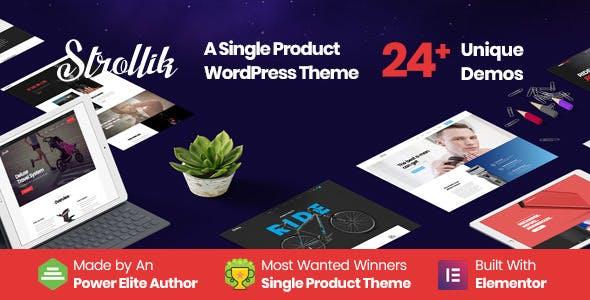 Strollik best Ecommerce WordPress Themes
