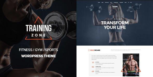 Training Zone best Ecommerce WordPress Themes