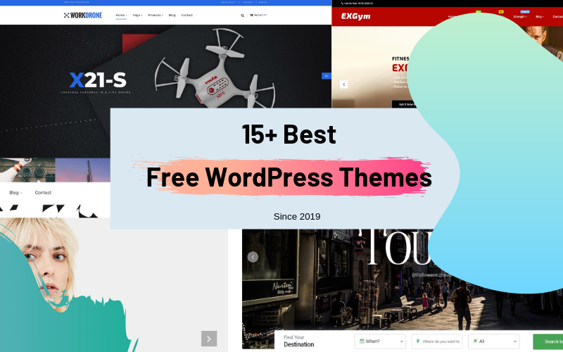 15+ Best Free WordPress Themes (2019) - Best WordPress Templates for Small Business