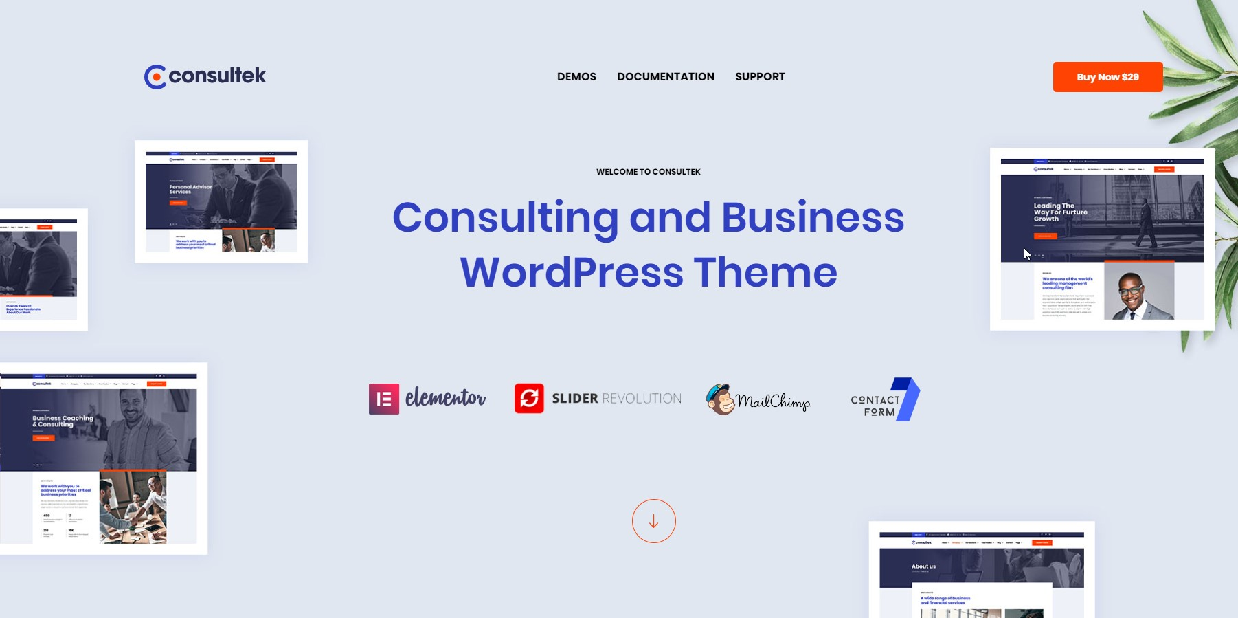 Consultek - Consulting & Business WordPress Theme